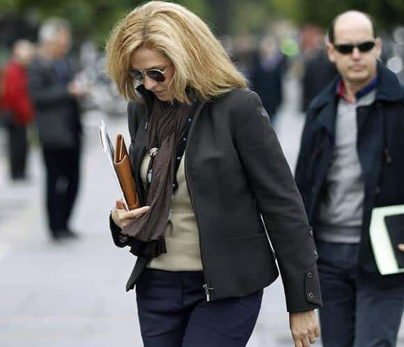La imputación de la Infanta Cristina.